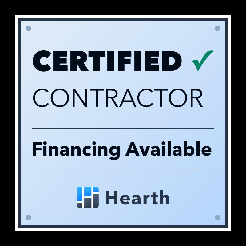 hearth financing certified