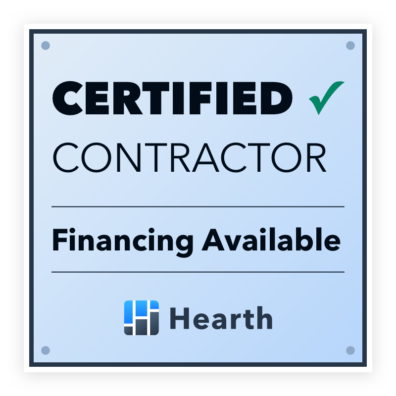 hearth financing certified