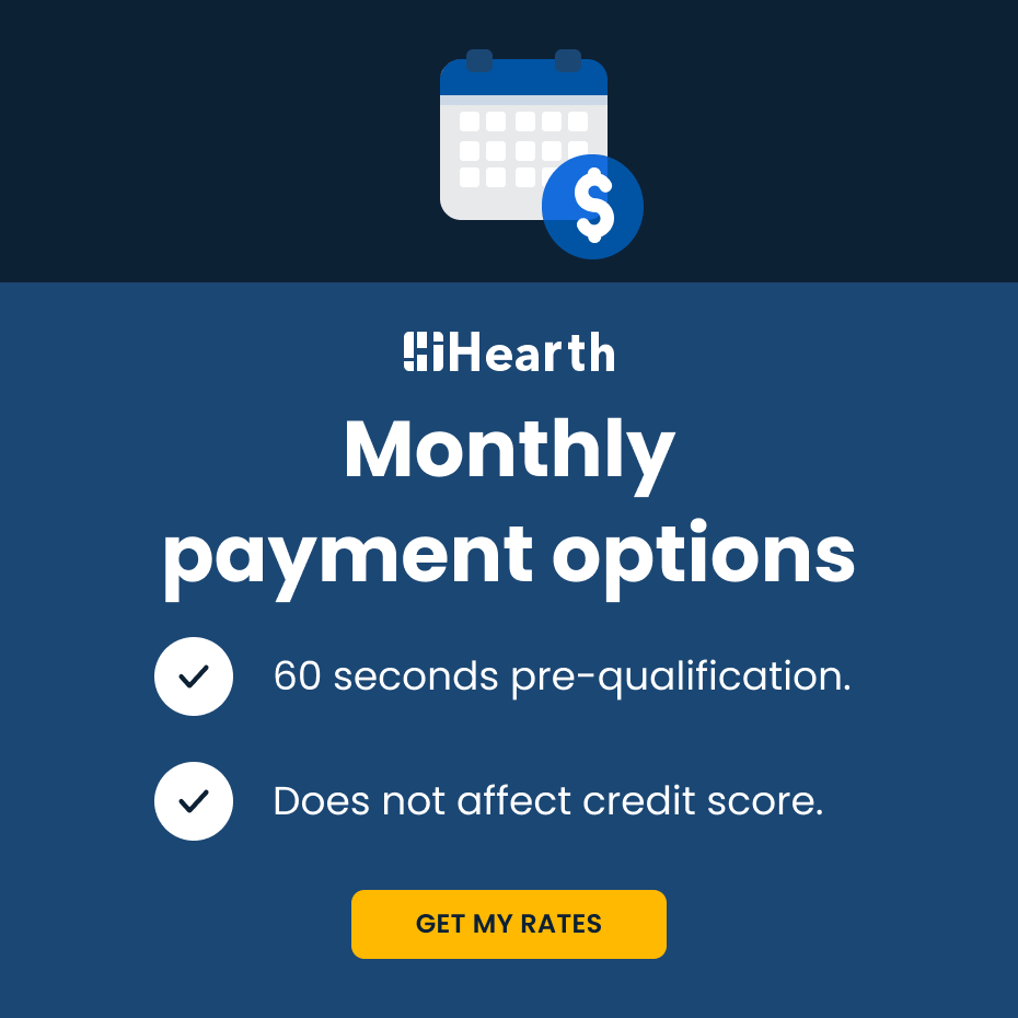 Hearth personalized financing