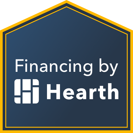 Financing by Hearth Logo and Link
